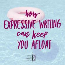 How expressive writing can keep you afloat