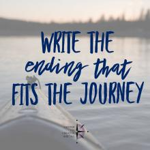Write the ending that fits the journey